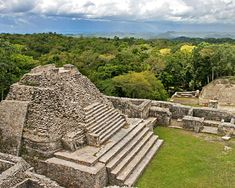 "El Caracol means ""the snail"", and its not entirely clear as to this why this appellation was applied. This largest of Belize Maya sites is just 25 miles south of San Ignacio"