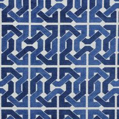 Cliffoney in Blue/White by David Hicks for Lee Jofa Groundworks