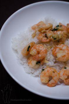 Crevettes au gingembre et au citron vert | Piratage Culinaire