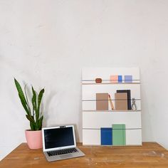 DIY DESK SHELF | HOME OFFICE HACK | NO POWER TOOLS! Check out how to make this space efficient shelf with NO power tools for your home office! Ikea Mirror, Diy Mirror, Hacks Diy, Home Hacks, Fire Pit Table Top, The Sorry Girls, Office Hacks, How To Make Something, Ikea Couch