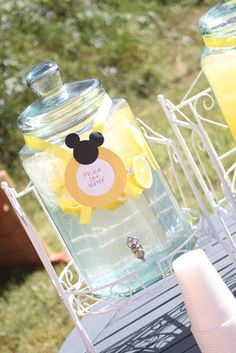 Yellow Minnie Mouse Party {Avery's 3rd Birthday} | Delicate Construction