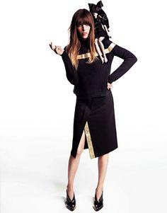 Lou Doillon campana All About Lou Barneys New York otono 2013 Inez Vinoodh - Jil Sander   Galería de fotos 7 de 30   Vogue México