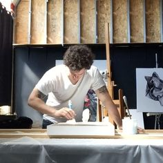 Prime time!  Getting some new panels ready.  Rockin' the new @petsymmetry album.  #primetime #newwork  #artofinstagram #art #fineart #painting #oilpaint #oilpainting #realism #figurepainting #instaart #instaartist #representationalart #traditionalpainting #cleveland #clevelandart #clevelandartist #flesh #inthestudio #artstudio #studiolife #portraitpainting #portraiture #artgallery  #contemporaryart #contemporaryartist