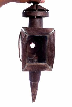 1850 Antique Rare Auto Buggy Carriage Side Lamp Lantern Light. G41-69