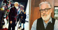 Cool: So sieht ein Hipster-Weihnachtsmann aus! #News #Unterhaltung