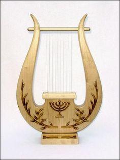 how to make a kinnor harp