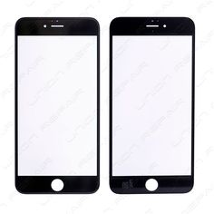 Replacement for iPhone 6 Plus Front Glass Lens - Black Specifications: Color: Black Screen Size: inches Material: Shatter proof glass, oleophobic coating Compatibility: Apple iPhone 6 Plus F. Iphone 7 Plus Features, Black Screen, Buy Apple, Apple Iphone 6s Plus, Screen Size, Color Black, Lens, Frame, A Frame