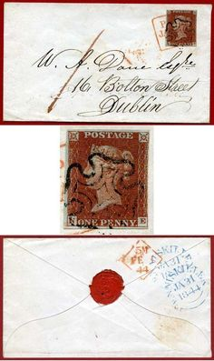 1841 #PennyRed (NE) SUPERB Re-Directed Cover #forsale http://www.kollectbox.com/explore/#/item/profile/55e9a74670ebd0905cb80fd7 www.kollectbox.com - #Marketplace for #Stamp #Collectors