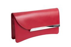 Gaia in hot red.  Introductory 20% off Gaia clutch for pinterest users who purchase before 7/30/15. Use code 'pinterestgaia' at checkout