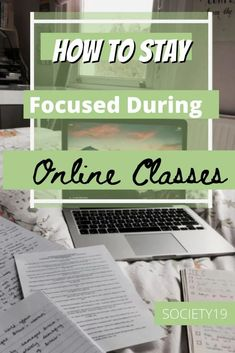 How To Stay Focused During Online Classes Stay Focused, How To Stay Motivated, Study Break, Class Schedule, Do You Work, College Hacks, Take A Nap, Focus On Yourself, Willpower