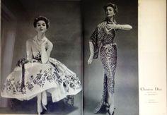 Foto van klassieke mode uit 1957