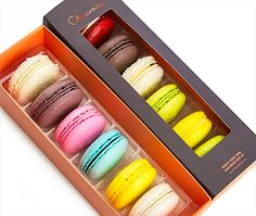 "Macaron Box - Chocomize - ONLINE: ""Create your perfect Macaron box 