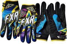 FXR Racing - Dirtbike MX Gear - Podium Star MX Glove - CPYK