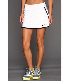 Nike Power Skirt White/White/Black/Black - Zappos.com Free Shipping BOTH Ways