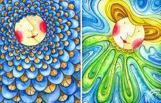 szuflada z rysunkami: Portret w tle... Illustration, Painting, Author, Painting Art, Paintings, Illustrations, Painted Canvas, Drawings