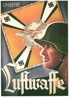 """Our Luftwaffe"" propaganda poster  #propaganda #worldwar2"