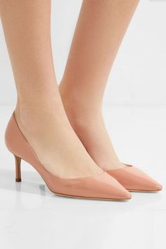 474b193144d7 Jimmy Choo - Romy patent-leather pumps