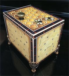 OMG! I LOVE THIS ((Altered Cigar Box)) Paper, Paws, etc.: Cigar Box