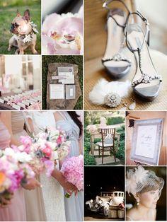 Vintage Glam Wedding Inspiration