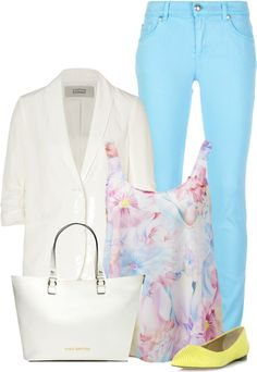 """""""Pastel Pallet"""" by chelseagirlfashion ❤ liked on Polyvore"""