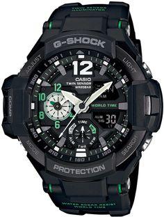 Amazon.co.jp: [カシオ]CASIO 腕時計 G-SHOCK SKY COCKPIT GA-1100-1A3JF メンズ: 腕時計通販