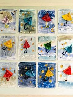 The Best Winter Art Projects for Kids and Teens Kindergarten Art, Preschool Crafts, Crafts For Kids, Arts And Crafts, Paper Crafts, Autumn Crafts, Spring Crafts, Classe D'art, Art Classroom