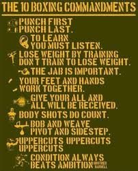 Image result for boxing quote