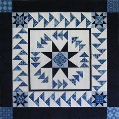 Atlantic Flyway quilt by Deb Tucker. Flying geese and stars, workshop, 2016 Road to California.