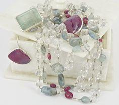 Gemella- Vicki and Kerrie Corney Aquamarine Pendant, Ruby Earrings, Australian Art, Freshwater Pearl Necklaces, Clear Quartz, Jewerly, Fine Jewelry, Handmade Jewelry, Jewelry Design