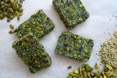 Raw Hemp Algae Bars | 29 Tasty Vegetarian Paleo Recipes