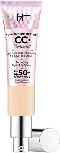 It Cosmetics CC+ Cream Illumination SPF 50+ (THIS STUFF IS INCREDIBLE)