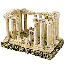 top fin ancient roman ruins aquarium ornament para