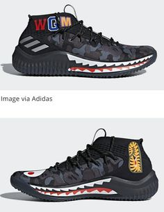 reputable site 4ace5 0effc The Bape x Adidas Dame 4