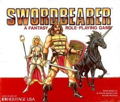 Swordbearer -- strange name with an odd cover to the game?