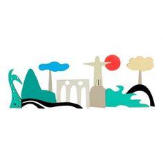 Obra Rj Quente I  Obra SP Grandiosa fabricada em MDF com acabamento em pintura automotiva. A peça assinada pelo artista Osmar Beneson possui cores equilibradas e forma delineada em traços bem calçados. Leve inspiração à sua decoração através da arte difusora de um olhar poético e sublime.