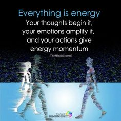 So why do we see a person, instead of flashing clusters of energy? Everything Is Energy And We Control It With The Power Of Our Thoughts Chi Energy, Reiki Energy, Spiritual Wisdom, Spiritual Awakening, Spiritual Enlightenment, Spiritual Growth, Aura Reading, Attraction, Reiki Classes