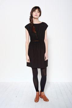 Robe Judith Noir - Robe - Des Petits Hauts 1