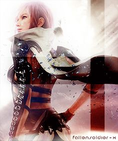 Lightning Farron | Final Fantasy | 13 |13-2 | Lightning Returns | gif