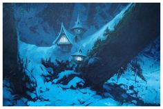 Fairies houses, by J.B.Monge
