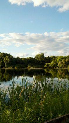 Lake at Thompson Park, Lincroft, NJ