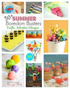 40 Summer Boredom Busters