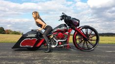 Dope bagger w/ our Red customized switchblade wheel.