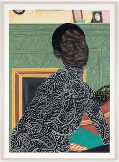 """""""For Opacity"""" opens tonight at the Drawing Center and includes work by Toyin Ojih Odutola. Make sure to also catch the last two weeks of… Pencil Drawings, Art Drawings, The Drawing Center, Illustration Art Nouveau, Art Simple, African American Art, Black Artists, Drawing Faces, Drawing Techniques"""