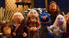 'Sesame Street' made their own version of 'Game of Thrones,' minus all the sex and murder.