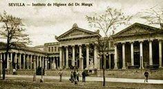 Instituto de Higiene del Doctor Murga, se encontraba en la calle Marqués de Paradas 35, donde hoy está el ambulatorio.