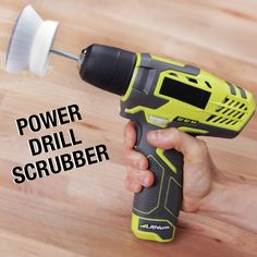 Too lazy to clean? This power scrubber is the solution to your apathy.