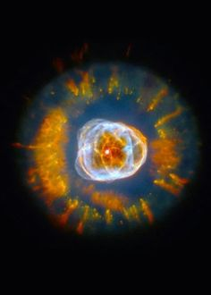 2000: The Eskimo Nebula (NGC 2392) Credit: NASA, Andrew Fruchter and the ERO Team [Sylvia Baggett (STScI), Richard Hook (ST-ECF), Zoltan Levay (STScI)
