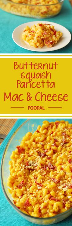 Add a little fall flair to your normal comfort food by including a butternut squash puree and pork pancetta into your standard mac n cheese. Read how now. http://foodal.com/recipes/pasta/butternut-squash-pancetta-mac-cheese/