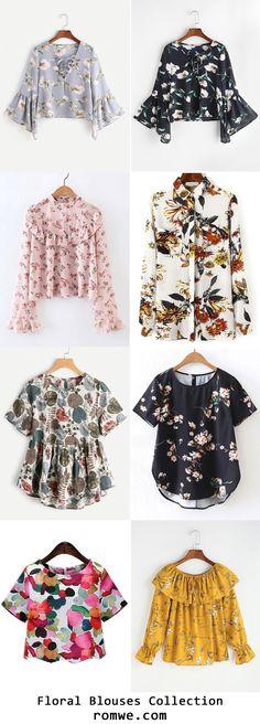9e979eec774e 29 mejores imágenes de Blusas | Fashion blouses, Fashion outfits y ...
