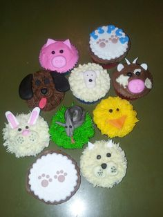 Rspca day cupcakes